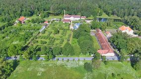 Free Palmse Manor Air Museum, Aerial View On A Sunny Summer Day, Estonia Stock Image - 157920591