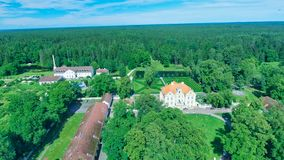 Free Palmse Manor Air Museum, Aerial View On A Sunny Summer Day, Estonia Stock Image - 157921111