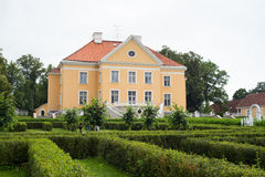 Palmse Manor Stock Image