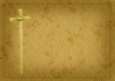 Palmsonntags-Christhintergrund Stockfotos