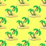 PalmsPattern Stock Photo