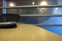 palmtop pokoju konferencji tabeli Fotografia Royalty Free