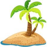 palmträd royaltyfri illustrationer