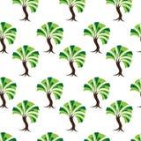 palmy bezszwowy deseniowy Royalty Ilustracja