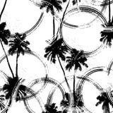 Palmy plażowy tło Fotografia Royalty Free