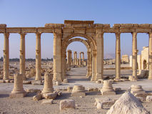 Palmyra Foto de Stock Royalty Free