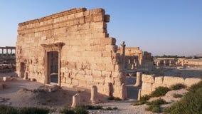 Palmyra Agora. Syria Stock Photo