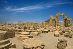 palmyra antyczne ruiny Zdjęcia Stock
