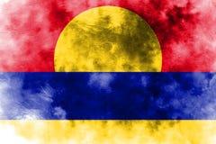 Palmyra-Atollschmutzflagge, abhängiges Gebiet Vereinigter Staaten fla vektor abbildung