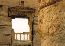 Palmyra columns syria Stock Photography