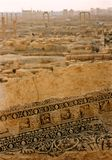 Palmyra horizon Roman city ruins Syria Stock Photography