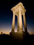 Palmyra by night Royalty Free Stock Image
