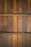 Palmyra  Palm wood wall Royalty Free Stock Image