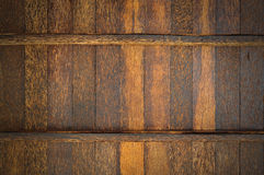 Palmyra  Palm wood wall Stock Photo