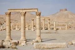 Palmyra - ruines de la 2ème ANNONCE de siècle Photographie stock