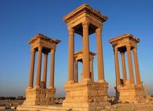 Palmyra Siria Immagine Stock