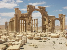Palmyra, Siria Foto de archivo libre de regalías