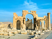 Palmyra Syrië Royalty-vrije Stock Foto