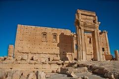 Palmyra, Syria. The ruins of the ancient city Palmyra before the war. Palmyra, Syria. Photo taken: October 10, 2010 Stock Photo