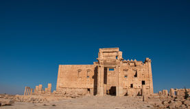 Palmyra, Syria. The ruins of the ancient city Palmyra before the war. Palmyra, Syria. Photo taken: October 10, 2010 Stock Images