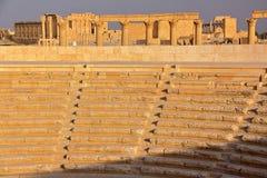 PALMYRA, SYRIEN: Die archäologische Fundstätte von Palmyra Lizenzfreie Stockbilder