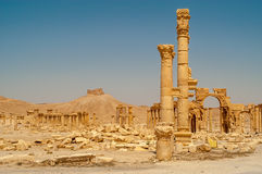 Palmyra Temple Ruins Royalty Free Stock Images