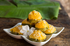 Palmyra thai dessert Stock Images