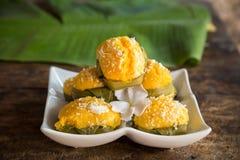 Palmyra thai dessert Royalty Free Stock Photo