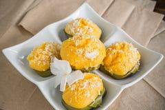 Palmyra thai dessert Stock Image