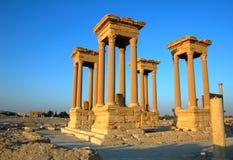 Palmyra towers Stock Image
