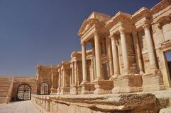 Palmyratheater Lizenzfreie Stockbilder