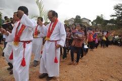 Palmzondag in Batam, Indonesië stock fotografie