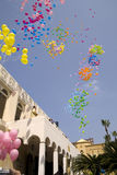 Palmzondag in Beiroet stock foto's
