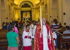 Palmzondag in Geanada Nicaragua Royalty-vrije Stock Afbeeldingen