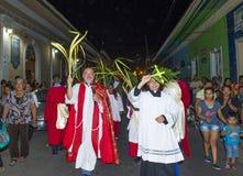 Palmzondag in Geanada Nicaragua Royalty-vrije Stock Afbeelding