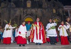 Palmzondag in Geanada Nicaragua Royalty-vrije Stock Foto