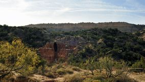 Palo杜罗峡谷洞在得克萨斯 免版税库存图片
