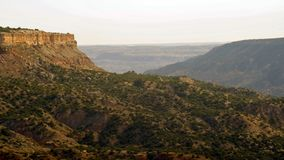 Palo杜罗峡谷n得克萨斯-西部风景 库存图片