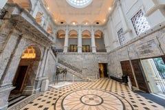Inside Cantor Art Center royalty free stock photo