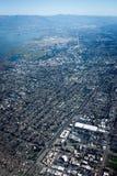 Palo Alto dal cielo fotografia stock libera da diritti