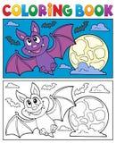 Palo 1 de la historieta del libro de colorear Libre Illustration