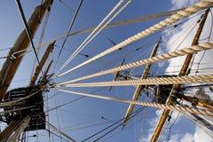 Palo de la nave Foto de archivo libre de regalías
