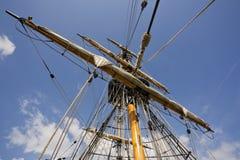 Palo de la nave Imagen de archivo libre de regalías