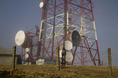 Palo de radio Imagen de archivo
