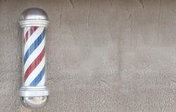 Palo del barbiere fotografia stock libera da diritti