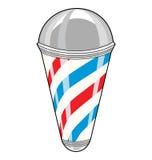 Palo del barbiere Immagine Stock