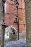 Palo del Colle Oldtown. Apulia. Royalty-vrije Stock Afbeeldingen