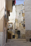 Palo del Colle Oldtown. Apulia. Royalty Free Stock Photos