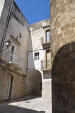 Palo del Colle Oldtown. Apulia. Stock Photos