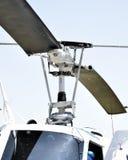 Palo del rotor del helicóptero Fotos de archivo